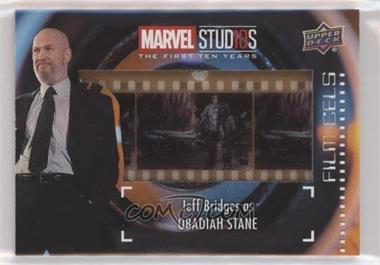 2019 Upper Deck Marvel Cinematic Universe 10th Anniversary - Film Cels #FC-21 - SP - Obadiah Stane
