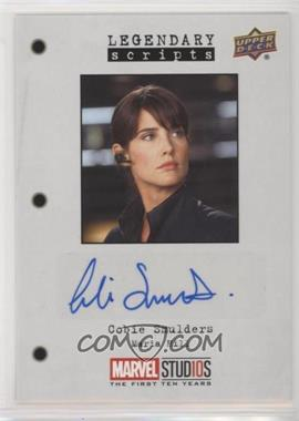 2019 Upper Deck Marvel Cinematic Universe 10th Anniversary - Legendary Scripts Autographs #LS-AH - Cobie Smulders