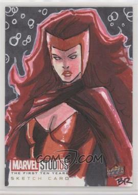 2019 Upper Deck Marvel Cinematic Universe 10th Anniversary - Sketch Cards #SKT - Brian Rogers