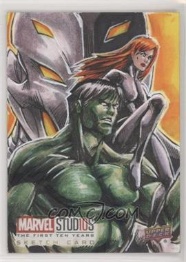 2019 Upper Deck Marvel Cinematic Universe 10th Anniversary - Sketch Cards #SKT - Ed Mark F.dela Cruz