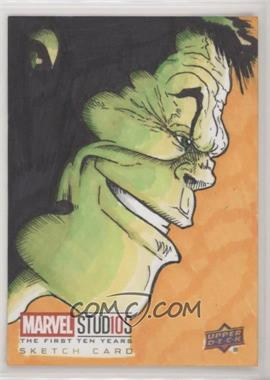 2019 Upper Deck Marvel Cinematic Universe 10th Anniversary - Sketch Cards #SKT - Gary ODD Edmund