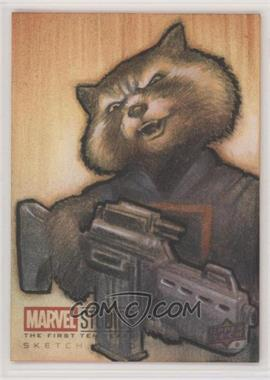 2019 Upper Deck Marvel Cinematic Universe 10th Anniversary - Sketch Cards #SKT - Huy Truong