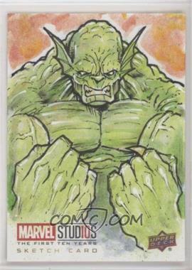 2019 Upper Deck Marvel Cinematic Universe 10th Anniversary - Sketch Cards #SKT - Luke Welch /1