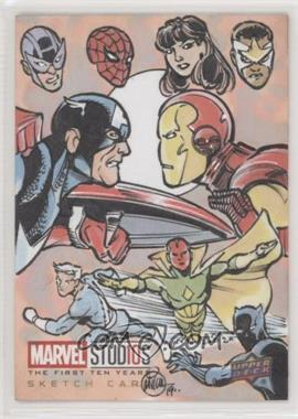 2019 Upper Deck Marvel Cinematic Universe 10th Anniversary - Sketch Cards #SKT - Mitch Ballard