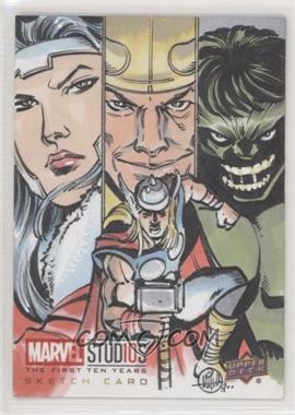 2019 Upper Deck Marvel Cinematic Universe 10th Anniversary - Sketch Cards #SKT - Mitch Ballard