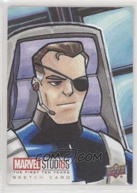 2019 Upper Deck Marvel Cinematic Universe 10th Anniversary - Sketch Cards #SKT - Paul Hill /1