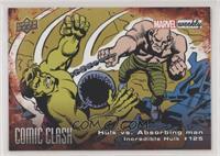 Hulk vs. Absorbing man