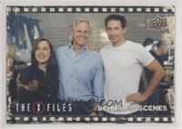 Chris Carter, Gillian Anderson, and David Duchovny