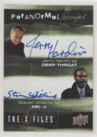 Jerry Hardin, Steven Williiams