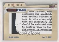 Level One - Black Dahlia