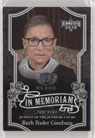In Memoriam - Ruth Bader Ginsburg