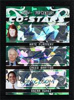Kate Flannery, Creed Bratton, Oscar Nunez #/4