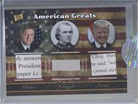 Bill Clinton, Andrew Johnson, Donald Trump [Uncirculated]