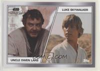 Uncle Owen Lars, Luke Skywalker