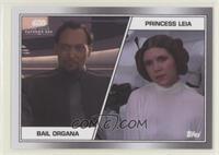 Bail Organa, Princess Leia Organa