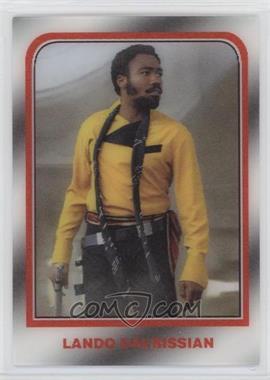 2020 Topps Star Wars 3D - [Base] #3D-47 - Lando Calrissian