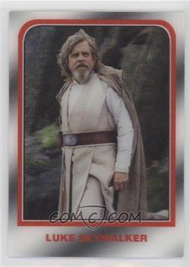 2020 Topps Star Wars 3D - [Base] #3D-58 - Luke Skywalker