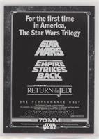 Star Wars 70MM Marathon Poster
