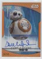 Dave Chapman as BB-8 #/50