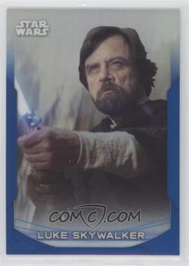 2020 Topps Star Wars Chrome Perspectives - [Base] - Blue Refractor #6-F - Luke Skywalker /150