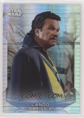 2020 Topps Star Wars Chrome Perspectives - [Base] - Prism Refractor #21-F - Lando Calrissian /299