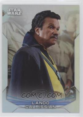 2020 Topps Star Wars Chrome Perspectives - [Base] - Refractor #21-F - Lando Calrissian