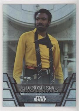 2020 Topps Star Wars Holocron - [Base] - Foilboard #N-14 - Lando Calrissian