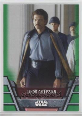 2020 Topps Star Wars Holocron - [Base] - Green #REB-11 - Lando Calrissian