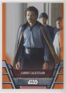 2020 Topps Star Wars Holocron - [Base] - Orange #REB-11 - Lando Calrissian /99