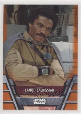 2020 Topps Star Wars Holocron - [Base] - Orange #REB-18 - Lando Calrissian /99