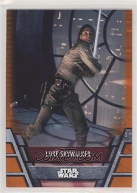 2020 Topps Star Wars Holocron - [Base] - Orange #REB-8 - Luke Skywalker /99