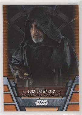 2020 Topps Star Wars Holocron - [Base] - Orange #RES-14 - Luke Skywalker /99
