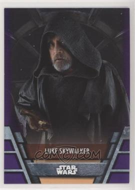 2020 Topps Star Wars Holocron - [Base] - Purple #RES-14 - Luke Skywalker /10