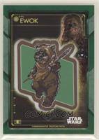 Ewok Patch - Chewbacca #/99
