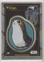 Porg Patch - R2-D2
