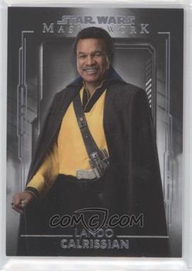 2020 Topps Star Wars Masterwork - [Base] #27 - Lando Calrissian