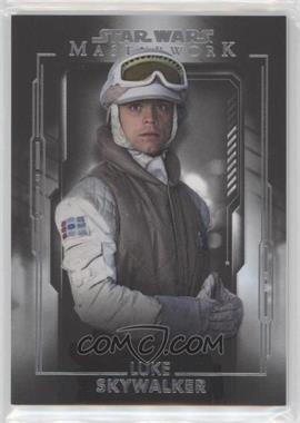2020 Topps Star Wars Masterwork - [Base] #48 - Luke Skywalker