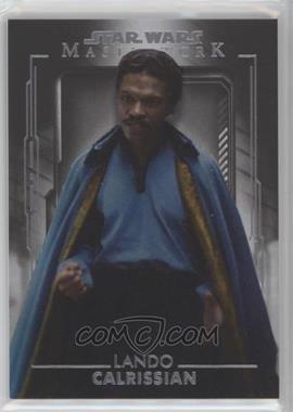 2020 Topps Star Wars Masterwork - [Base] #57 - Lando Calrissian