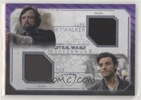 Luke Skywalker, Poe Dameron #/25