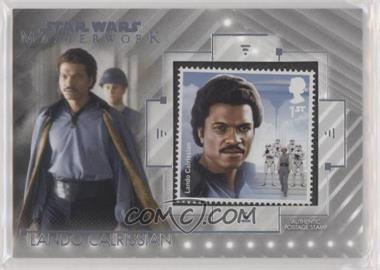 2020 Topps Star Wars Masterwork - Stamp Relics #SC-LC - Lando Calrissian