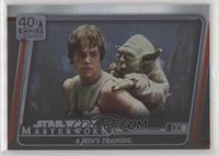 A Jedi's Training #/299