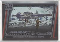 The Millennium Falcon's escape #/299
