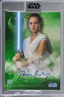 Daisy Ridley as Rey [Uncirculated] #/20