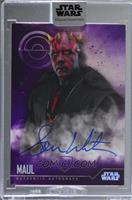 Sam Witwer as Maul [Uncirculated] #/10