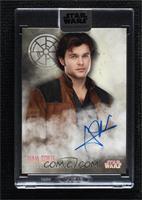 Alden Ehrenreich as Han Solo [Uncirculated] #/40