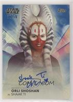 Orli Shoshan as Shaak Ti #/50