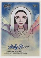 Shelby Young as Princess Leia Organa #/50