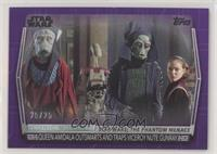 Queen Amidala Outsmarts and Traps Viceroy Nute Gunray #/25