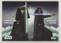Luminara Unduli  & Barriss Offee #/99