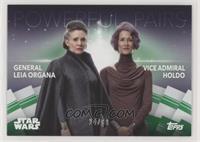 General Leia Organa & Vice Admiral Holdo #/99